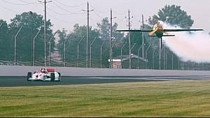 IndyCar vs. Edge 540 Plane