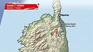 Le parcours Tour de Corse en 3D