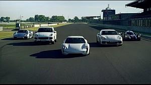 Porsche E-Performance. Boosts driving pleasure. Brakes emissions.