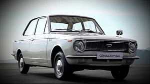 Toyota Corolla – Happy 50th Birthday