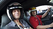 Hot lap around COTA with Tom Kristensen