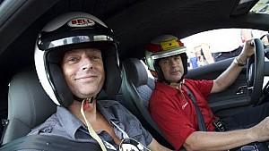 Hot lap around COTA with Tom Kristensen