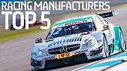 Top 5 Manufacturers in Motorsport History! - Formula E