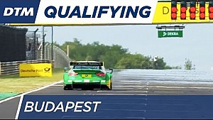 Mortara on the Pole for race 1 - DTM Budapest 2016