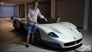 My First Drive in the Maserati MC12 - What a Legend!