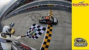 Truex Jr. dominates in Dover for fourth win of 2016