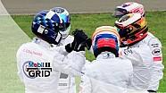 Driving School – Jenson Button, Fernando Alonso & Stoffel Vandoorne On Karting | Mobil 1 The Grid