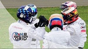 Driving School – Jenson Button, Fernando Alonso & Stoffel Vandoorne On Karting | Mobil 1 The Grid