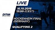 LIVE: Qualifying (Race 2) - DTM Hockenheim Final 2016