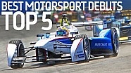 Top 5: Motorsport-Debüts