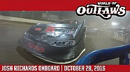 World of Outlaws Craftsman Late Models Josh Richards World Finals October 28th, 2016 | Onboard
