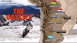 The route – Dakar 2017