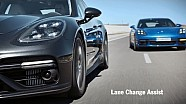 The new Panamera – Lane change assist