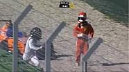 Немецкая Формула 4. Авария Оливера Сёдерстрёма и Робина Брезина в третьей гонке в Хоккенхайме
