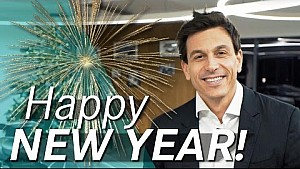 The Boss says Happy New Year!