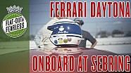 Inside a Ferrari Daytona at Sebring