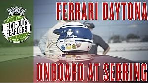 Inside a Ferrari Daytona at Sebring