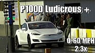 Tesla P100D Ludicrous Plus - Faraday Future Killer?