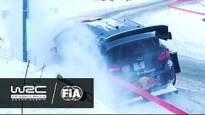 Rallye Monte-Carlo 2017: OGIER in ditch (SS3)
