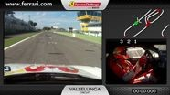 Ferrari 458 Challenge on-board camera: Lorenzo Casé at Vallelunga