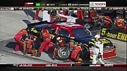 First Round of Green Flag Pit Stops