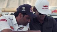 Rally Dakar 2013 - Preparing Ceviche in Lima - Sainz & Al-Attiyah