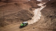 2013 Monster Energy X-raid makes it to Rest Day in First Place at the Dakar Rally