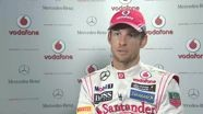 Jenson Button - Vodafone McLaren Mercedes MP4-28 car reveal