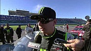 Brad Keselowski and Kyle Busch post-race interview | Kansas (2013)