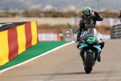 """""""ゾーン""""に入ったモルビデリ、MotoGP2勝目は「まるで2周しか無いようだった」"""