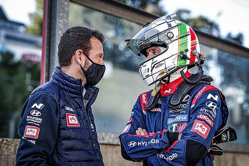 """WTCR, Tarquini sorride a metà: """"Che disastro sul bagnato"""""""
