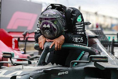 """Hamilton : """"J'avais toujours dit qu'on ne me verrait pas pleurer !"""""""