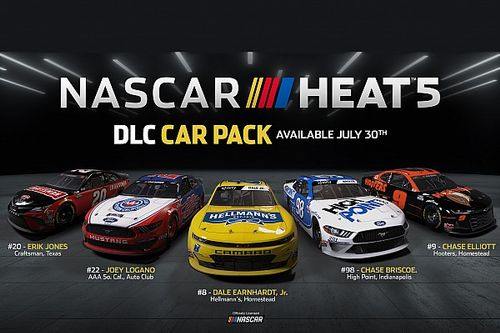 New content heading to NASCAR HEAT 5® on July 30th