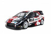 WRC 2021: Toyota svela la livrea delle Yaris