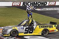 Grant Enfinger rallies to take Richmond Trucks win over Crafton