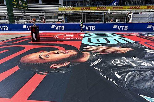 """La rajada de Hamilton en Rusia: """"Los comisarios tratan de frenarme"""""""
