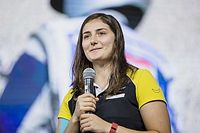 Tatiana Calderon all'ultima gara della Formula V8 3.5 in Bahrain