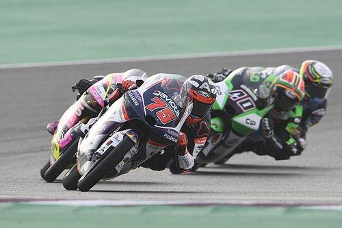 Victoria de Arenas en Moto3 en Jerez
