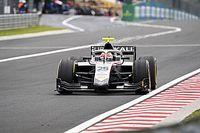 Gumikáosz ismét az F2 sprintfutamán, Schumacher másodjára is dobogós