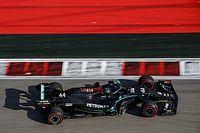 """Los Mercedes, tras barrer a todos en Rusia: """"No estamos tan bien"""""""