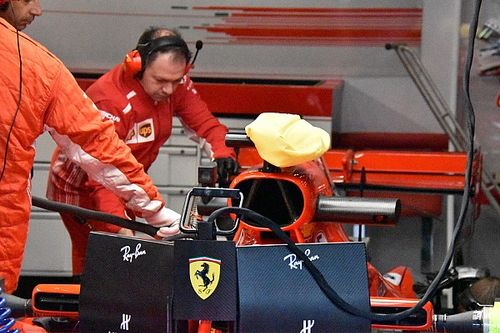 FIA tells Ferrari to stop using camera cooling bag