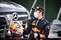 Victoria de Lawson en Silverstone en la F3