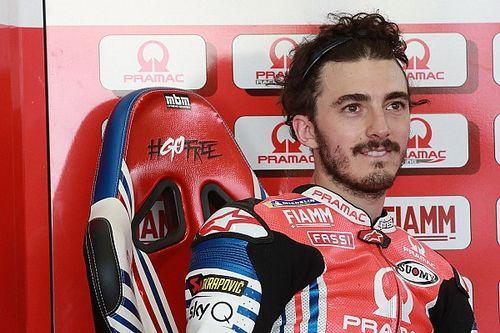 Bagnaia se lesiona la rodilla y causa baja en Brno