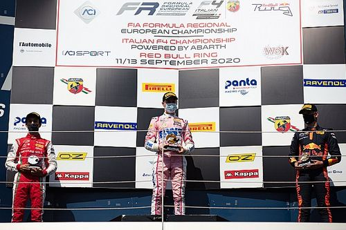 F4, Red Bull RIng, Gara 1: Duerksen vince dalla pole