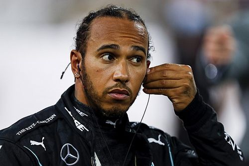 "Hamilton ""devastated"" to miss Sakhir GP after COVID positive"