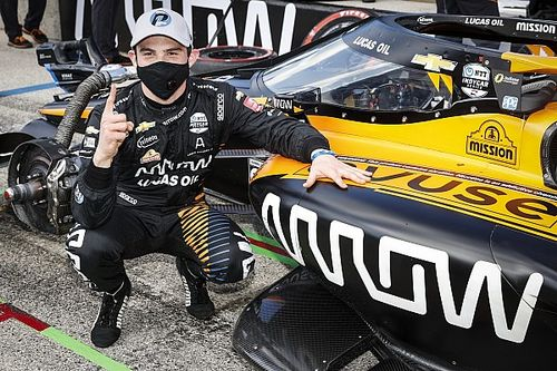 IndyCar Road America: O'Ward takes pole for Race 2
