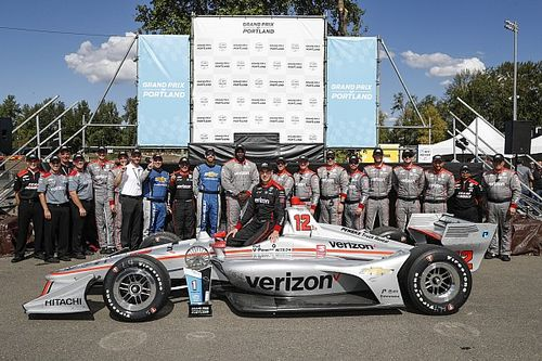 "Power says it's ""surreal"" to see his name with IndyCar idols"