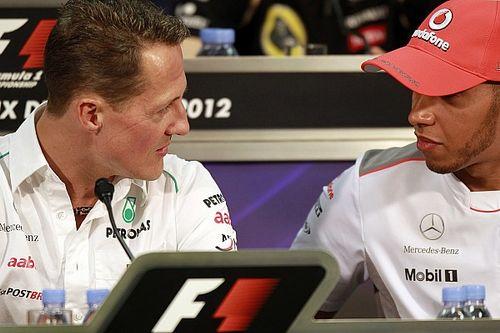 Schumacher ve Hamilton'ı, birlikte çalışanlar kıyasladı