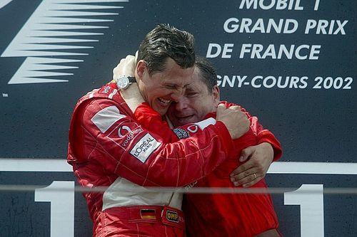 """L'espoir de Jean Todt : """"Schumacher se bat encore, j'espère venir à un GP avec lui"""""""