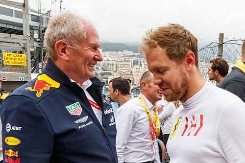Marko 'questiona' Vettel na Aston e foi 'contra' escolha do alemão